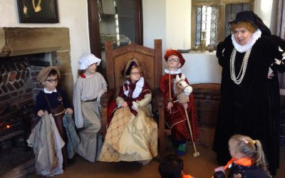 Year 1 visit to Manor Lodge