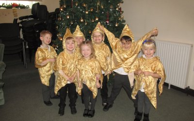 Our Foundation Stage Christmas Play!