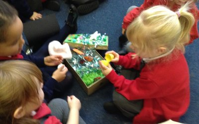 Our second half term in the Foundation Stage!