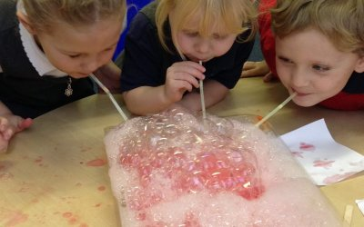 Science Week in the Foundation Stage!