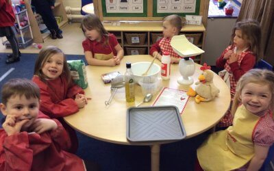 Our first week back at school!