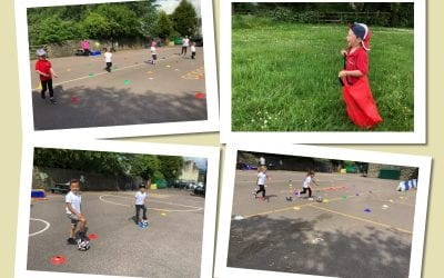 Sports Day in Reception!